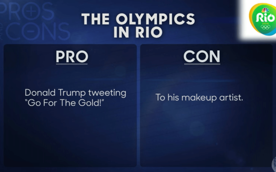 Late Night In The Morning: Pros and Cons of Rio 2016