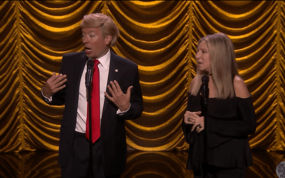 Late Night In The Morning – Barbra Streisand Duets with Donald Trump