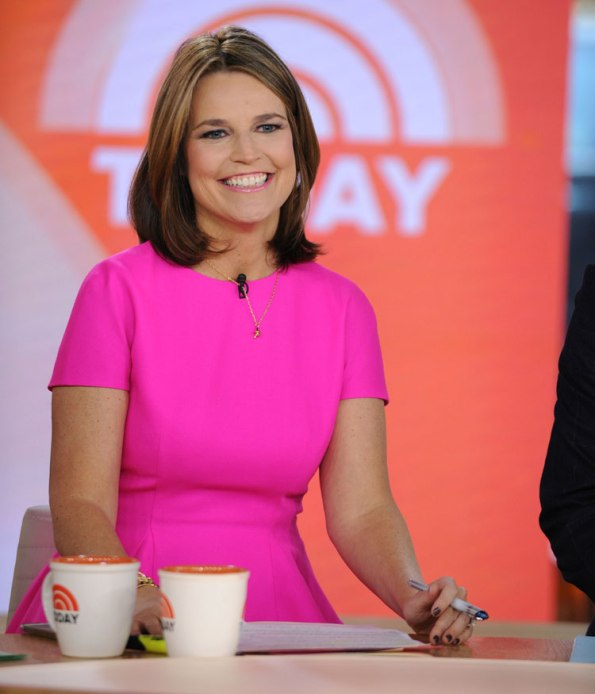 """""""Today's"""" Savannah Guthrie again co-hosts the Macy's Thanksgiving Day Parade, Thursday on NBC."""