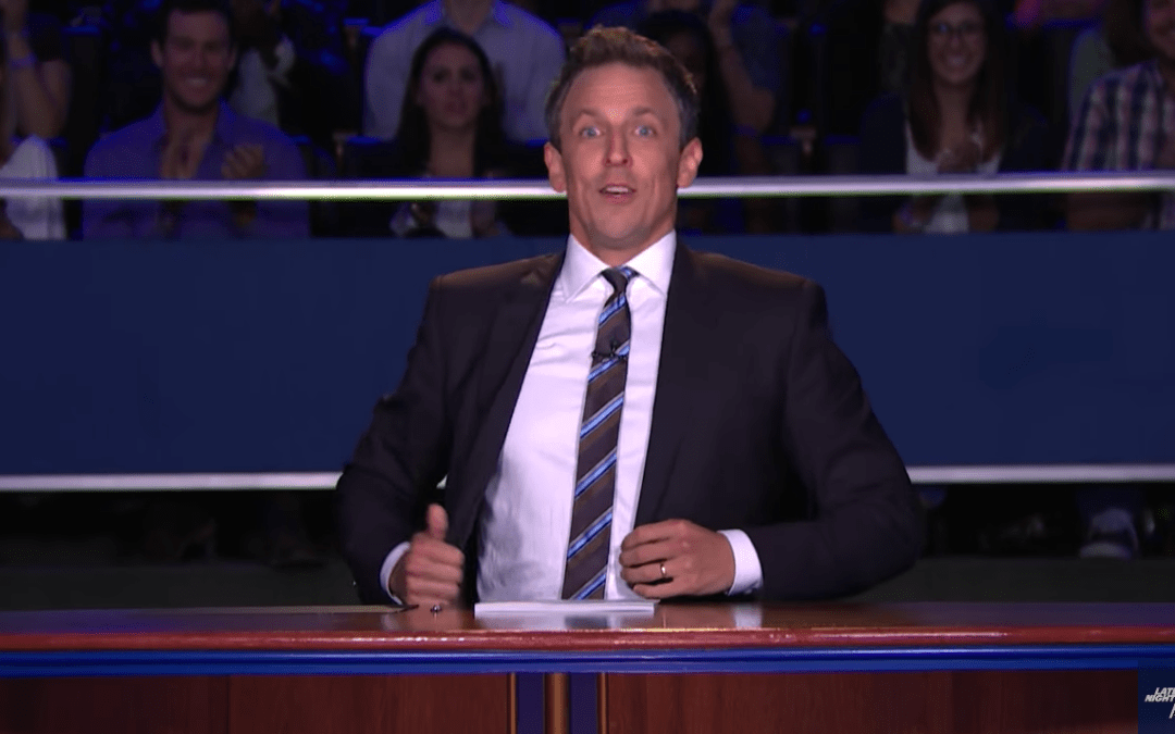 Late Night In The Morning – Seth Meyers Hosts The 2nd Presidential Debate