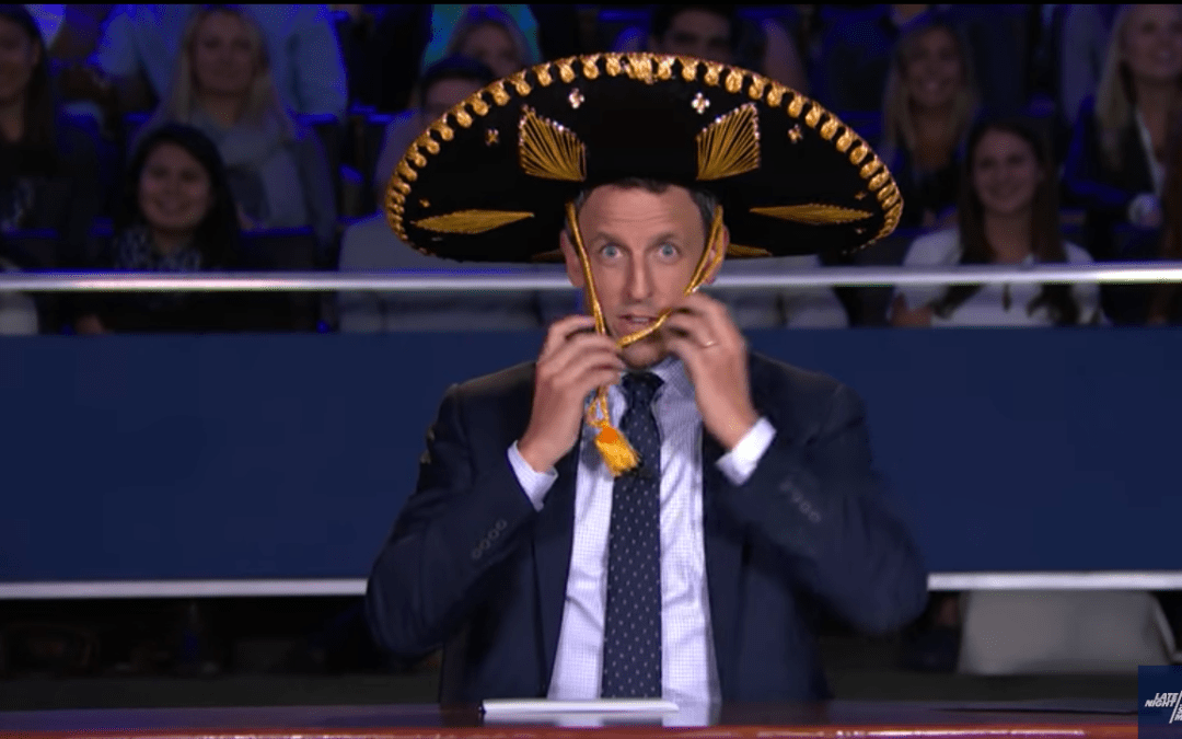 Late Night In The Morning – Seth Meyers Hosts The 2nd VP Debate