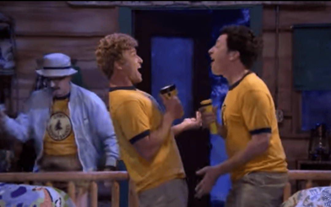 Late Night In The Morning – Jimmy Fallon And Justin Timberlake Revisit Their Time At Camp Winnipesaukee As Teens
