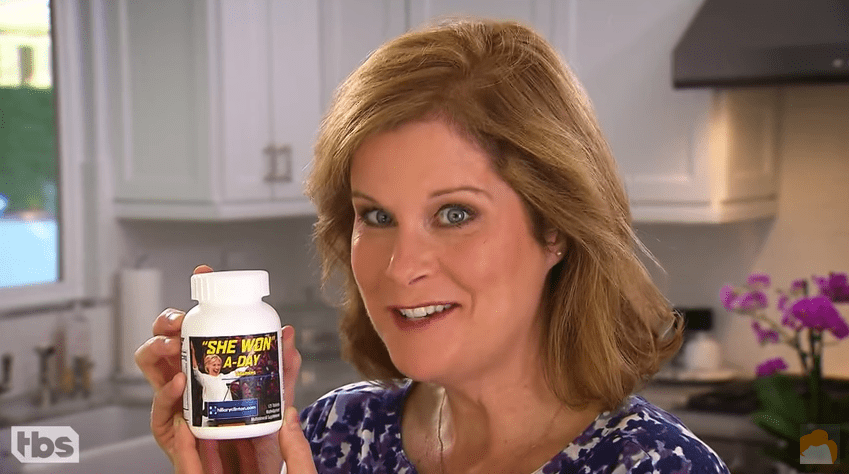 Late Night in the Mornin' – She Won A-Day Vitamins, For Those Who Need To Block Out Trump