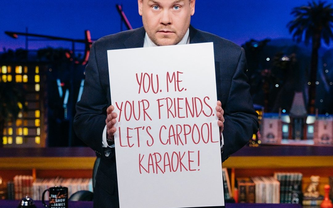 Here Is Your Chance To Participate In Carpool Karaoke With James Corden