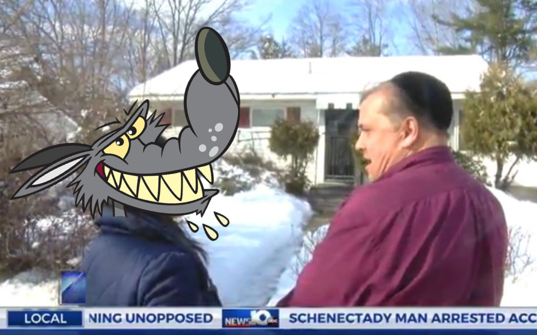 """Schenectady """"Jew"""" Cries Wolf About His Home Being Vandalized With Swastikas"""