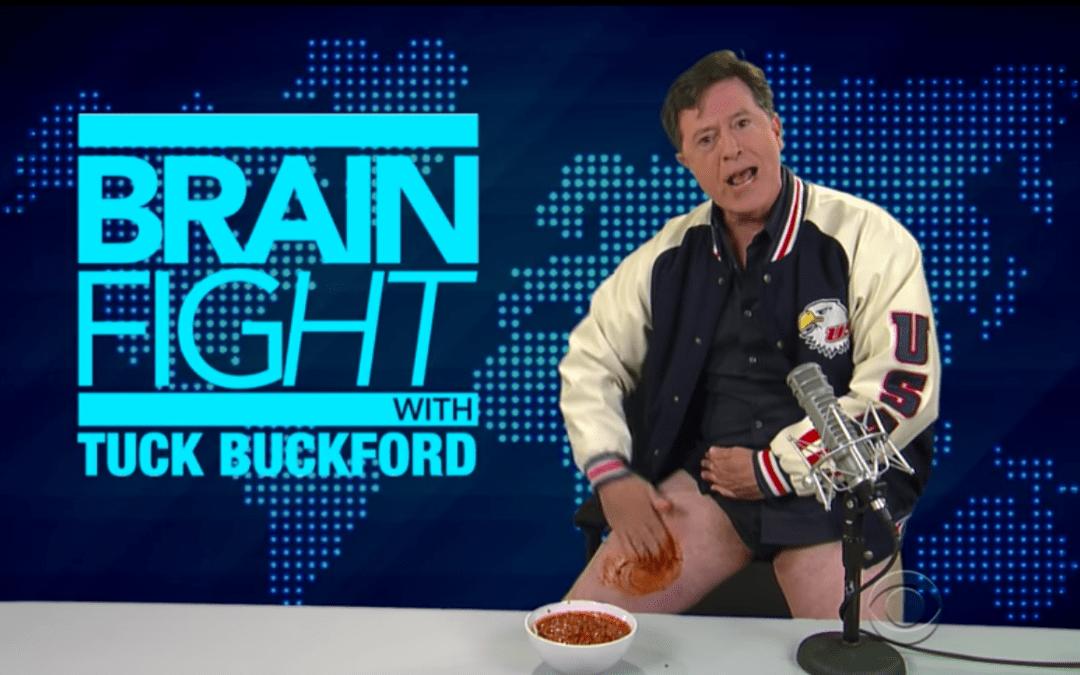 Stephen Colbert Does A Better Alex Jones Than Alex Jones Does Alex Jones