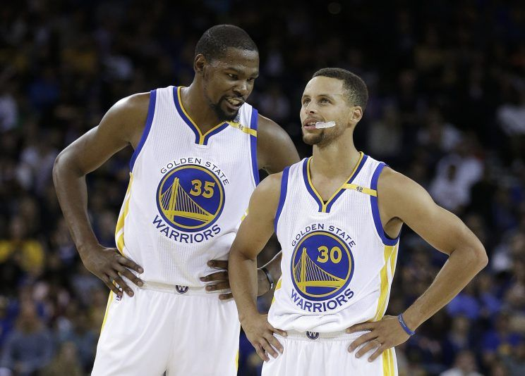 Jeff Van Gundy Claims Kevin Durant & Steph Curry Are The Greatest Duo of All-Time…Wait What?