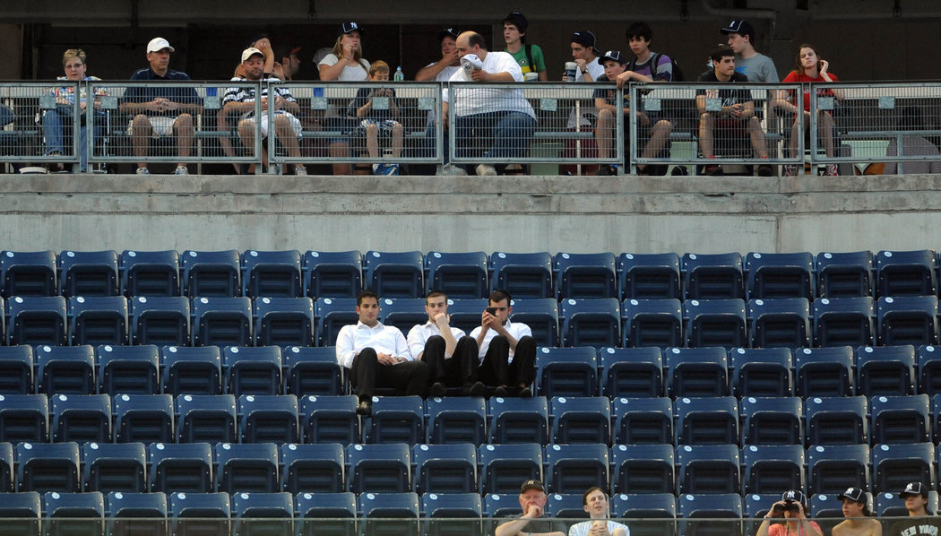 The Yankees Aren't Putting Butts In Seats And Something's Gotta Change