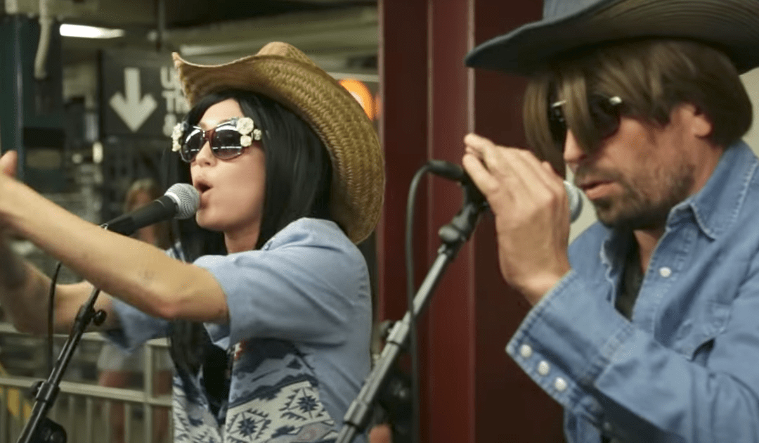 "Miley Cyrus Goes Incognito in the Subway and Rips a Killer ""Jolene"" Cover with Jimmy Fallon"