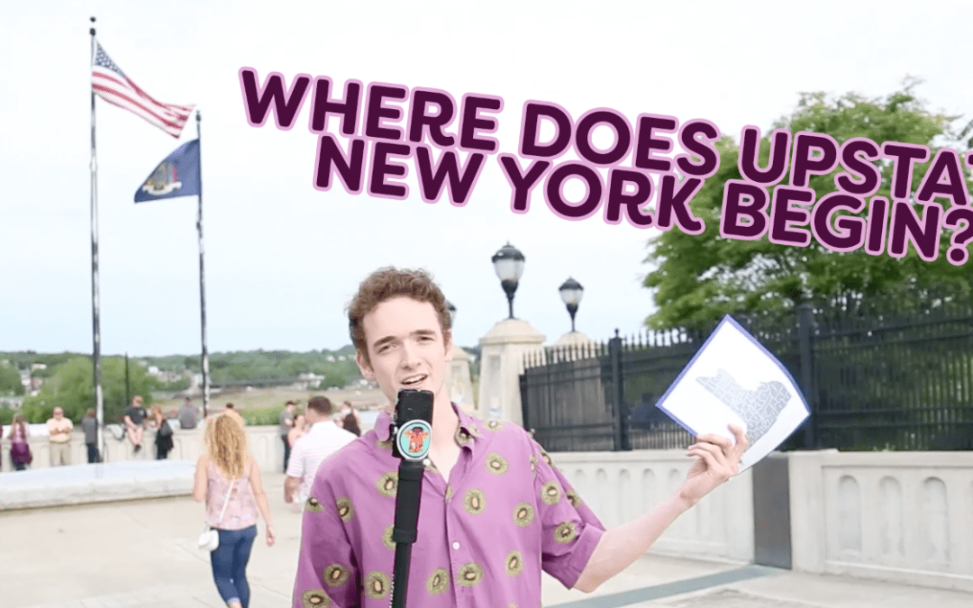 Where Does Upstate New York Begin?