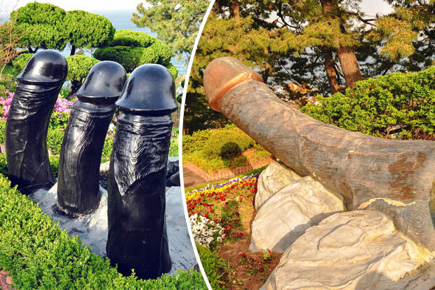 Leave It To South Korea To Make A Park Full of Giant Penises In Honor Of A Virgin Girl That Died Too Soon