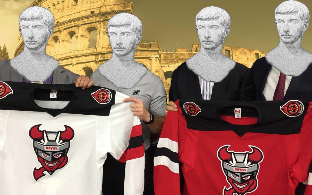 Binghamton Devils Reveal New Look, Completing Their Backstabbing of Albany