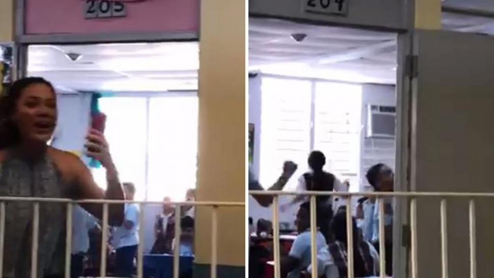 Students at This Puerto Rican School Go NUTS After Power Returns for the First Time in 112 Days