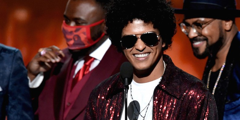 Was Bruno Mars Hypeman Starting A Movement or Just Cautious About Flu Season?