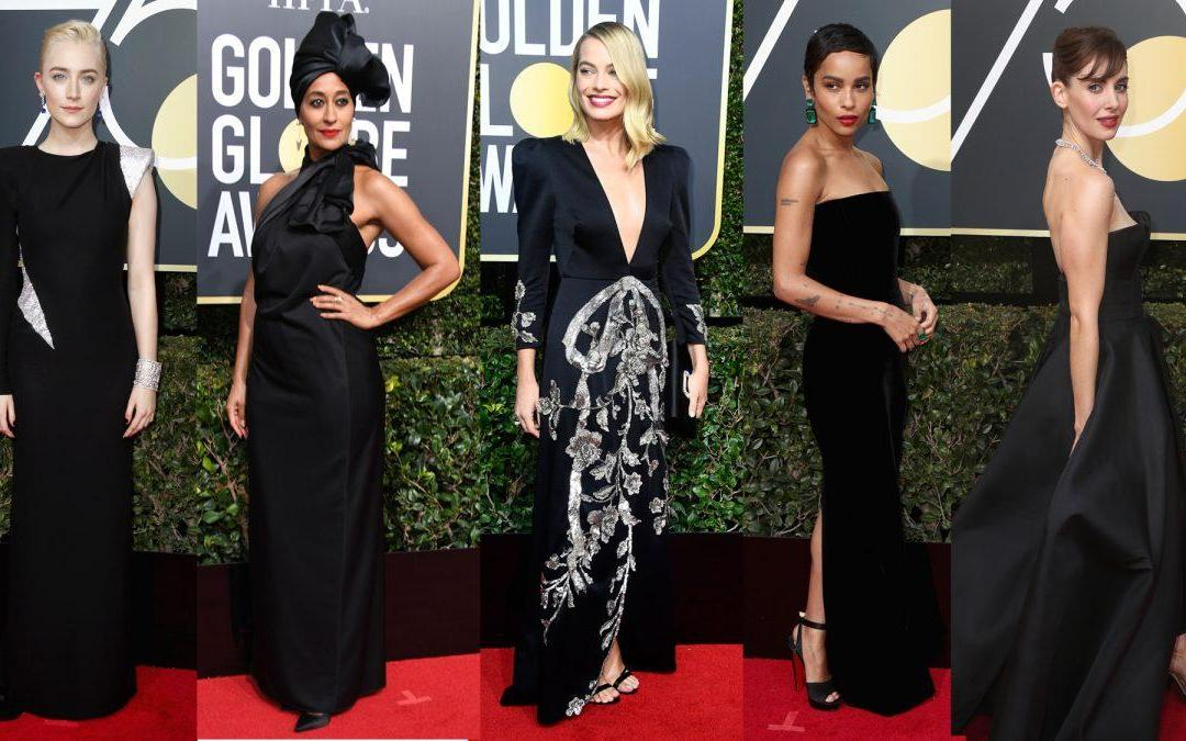 Golden Globes: The All Black Red Carpet Was a Bit of a Snooze Fest