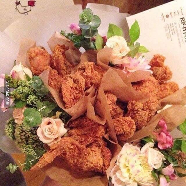 2BD - Valentine's Day_Chicken Wing bouquet 1