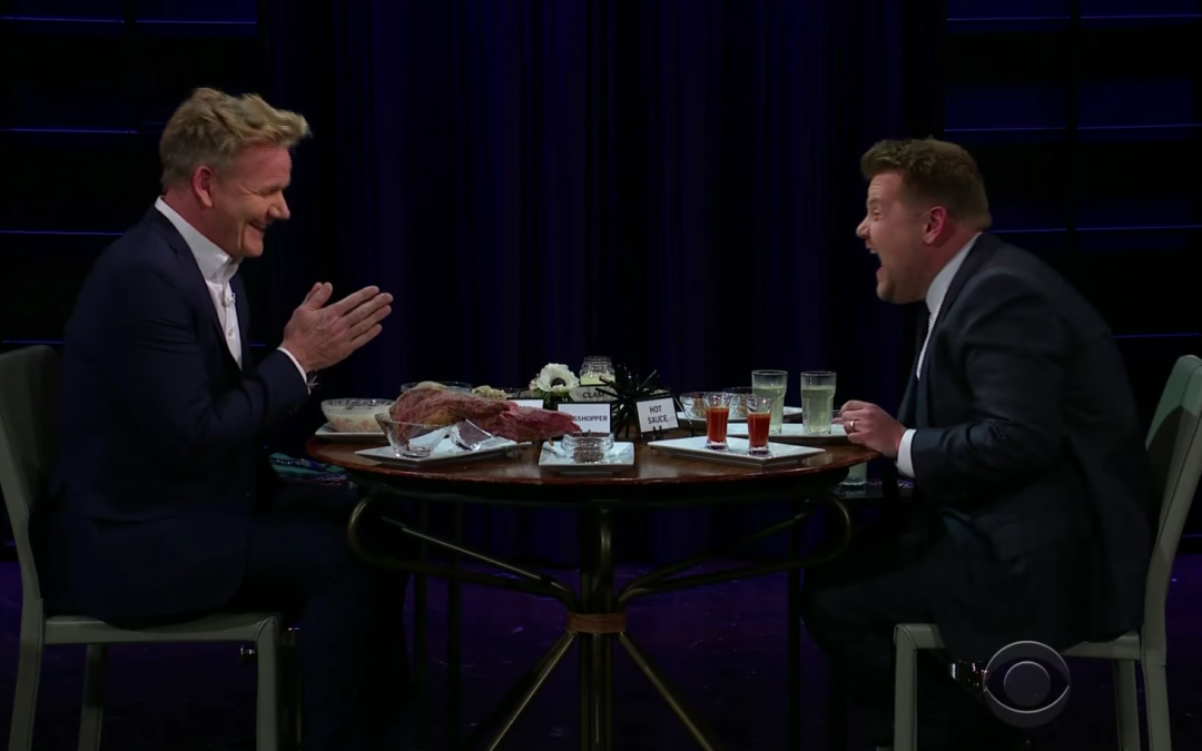 Late Night in the Morning – Gordon Ramsey Plays The Most Diabolical Food Game on Television
