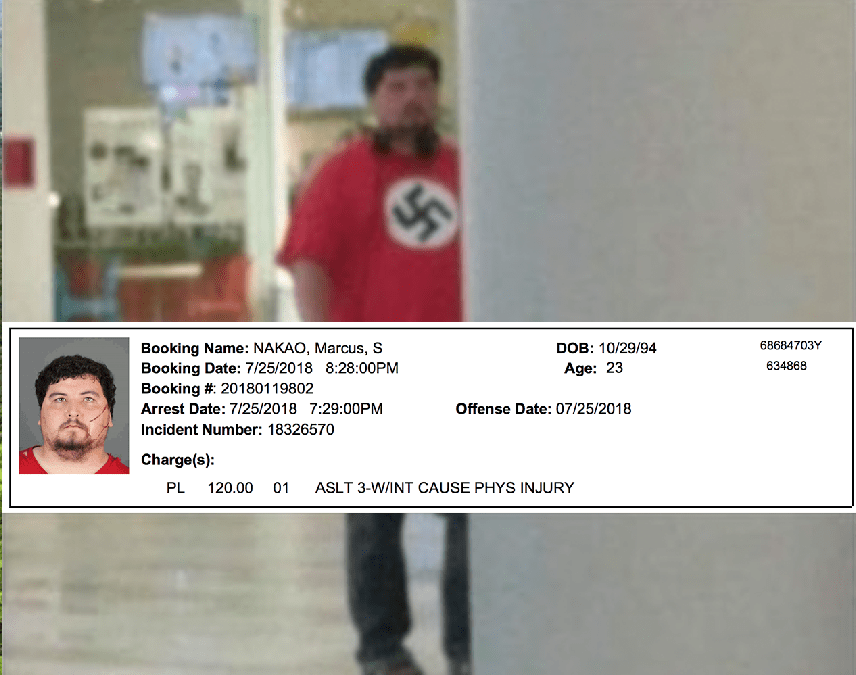 Remember Crossgates Nazi Guy? Yeah, He Was Just Arrested for Assault