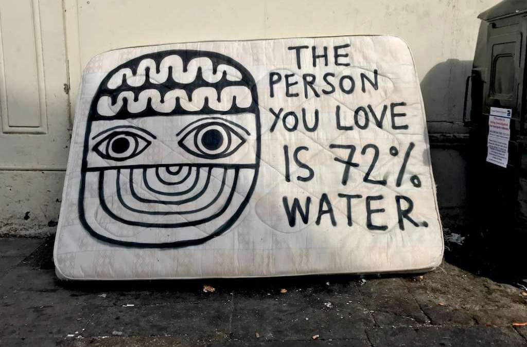 I Found the Perfect Piece of Artwork for Jack Since He is So Good at Guessing the Percentage of Water in Things