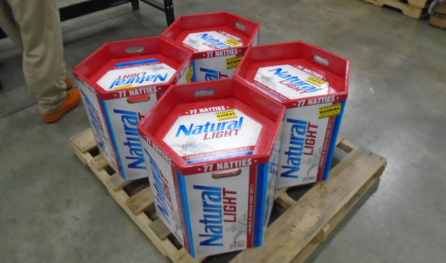 Natty Light Just Came Out With a 77 Rack