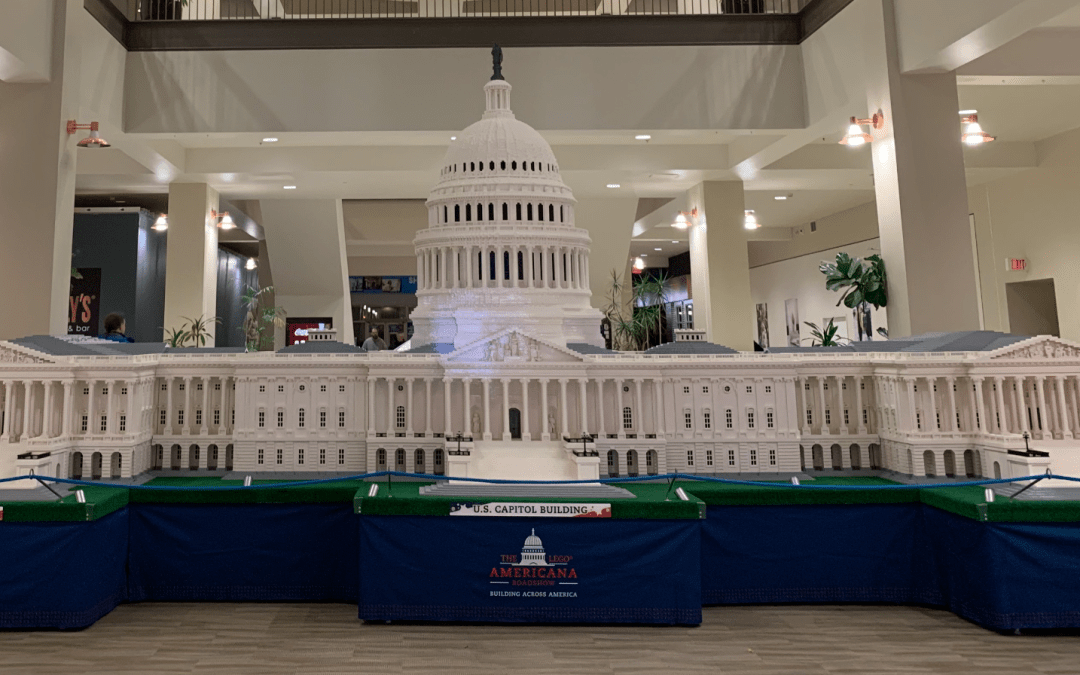 Power Ranking the Americana LEGO Exhibits in Crossgates Mall