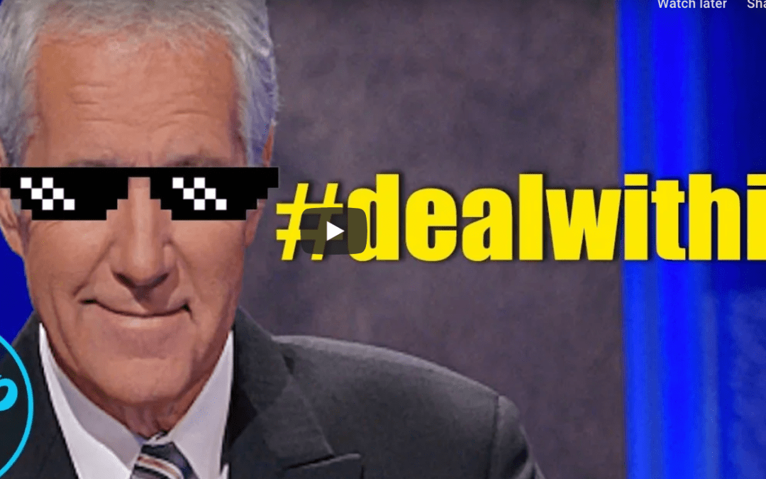 I Don't Want To Live In A World Without Alex Trebek