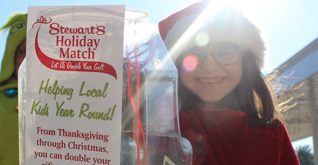 Stewart's Holiday Match Program Donates 2 Million Dollars to Children's Charities