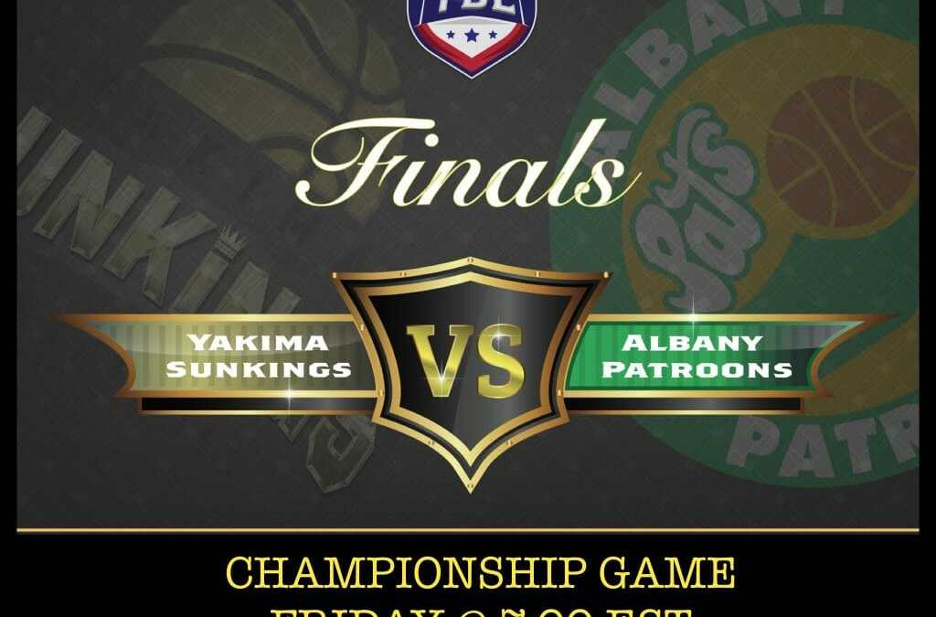 Patroons Are Hosting The TBL Championship Game Tonight In Albany