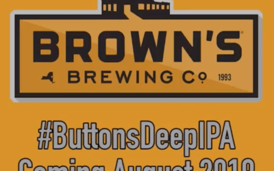 Big Announcement: Two Buttons Deep and Brown's Brewing Are Collaborating On A New IPA