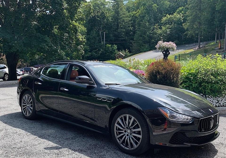 You Can Enter to WIN a Maserati Ghibli through the Saratoga Automobile Museum