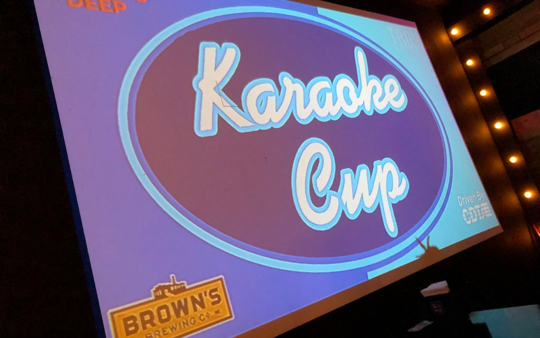 Karaoke Cup 1.0 Was A Great 1.0