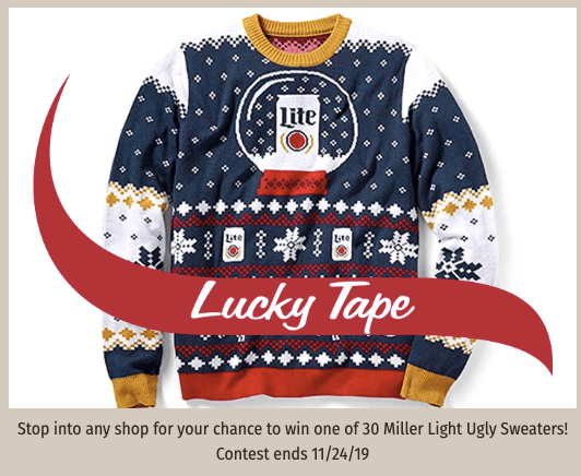 PSA: Enter to Win The Miller Lite Ugly Sweater Contest at Stewart's Shops