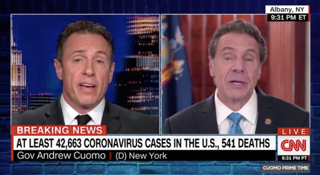 The Cuomo's Brotherly Bickering is Unmatched