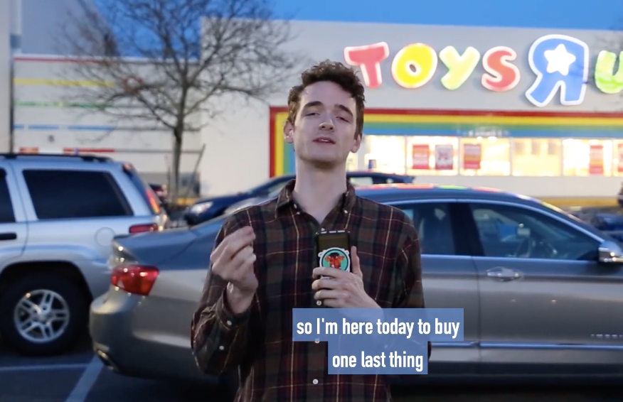 From the 2BD Archive: Jack Buys One Last Toy at Toys 'R Us (2018)