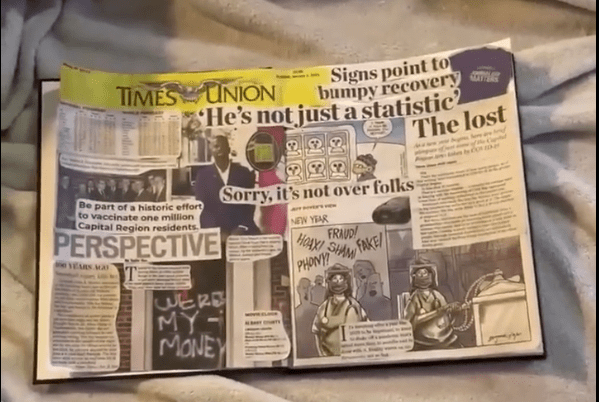 Week 1: The Albany Times Union Scrapbook Project