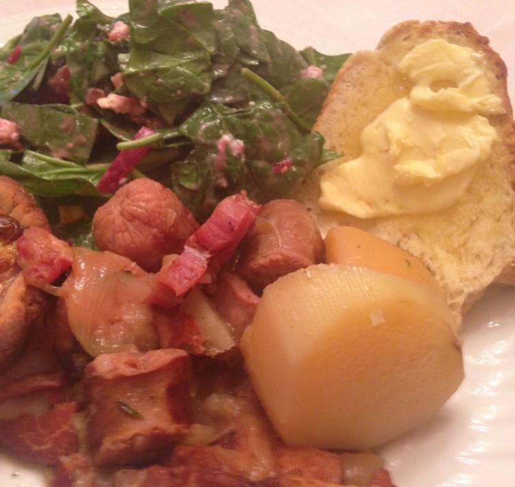 DC - dinner plate