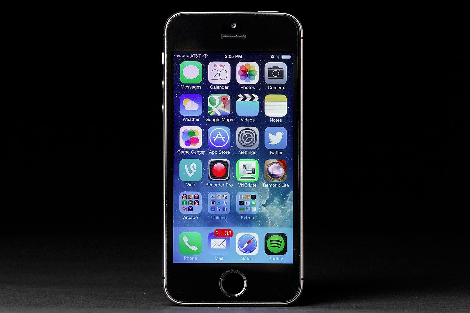 apple-iphone-5s-screen-front-ios-7