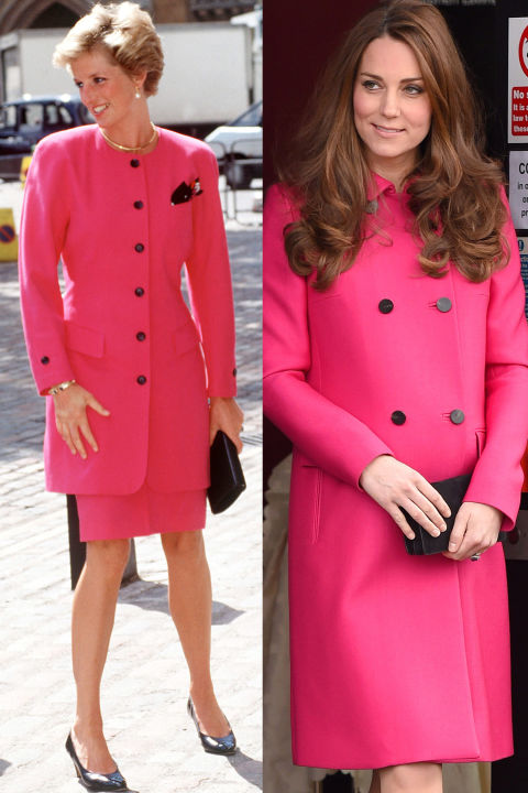 hbz-princess-diana-kate-middleton-pink-coat-black-buttons