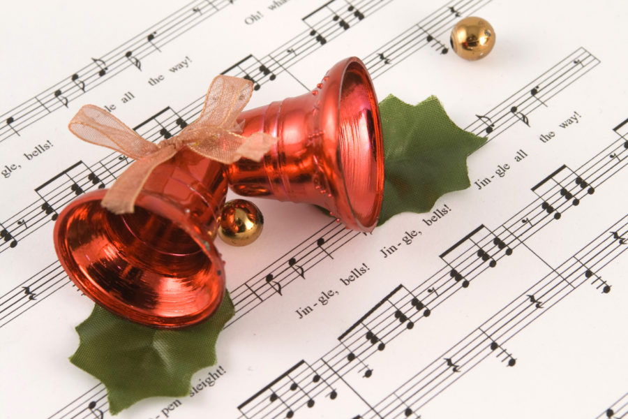 Sheet music of Jingle bells