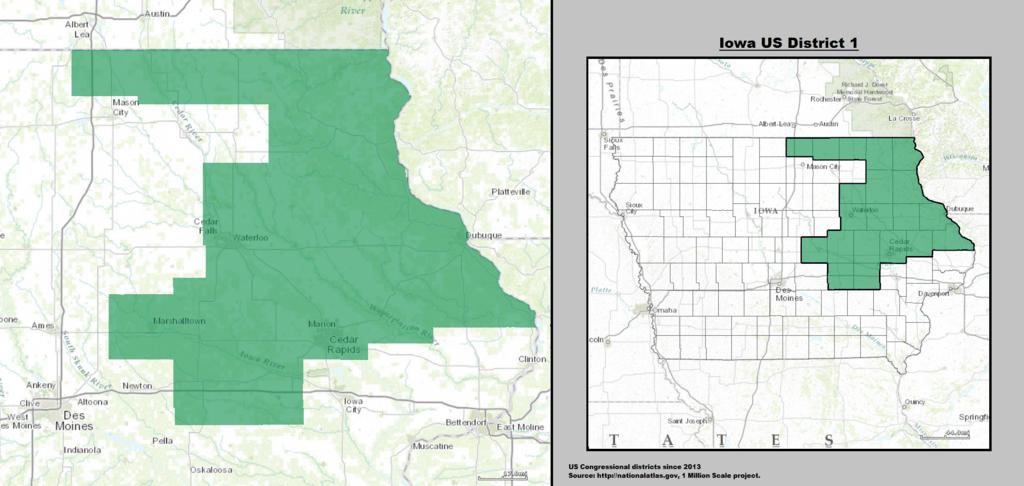 Iowa District Map 12
