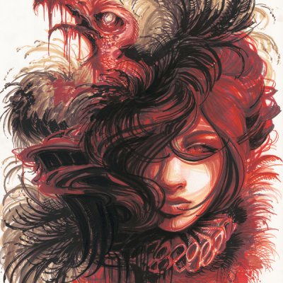 Carrion Couture Giclée Print - Nicole Marie McCord