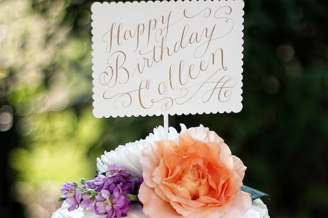 colleen birthday sign blog