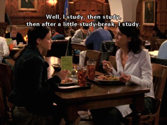 Gilmore-Girls-Study-Break-Rory