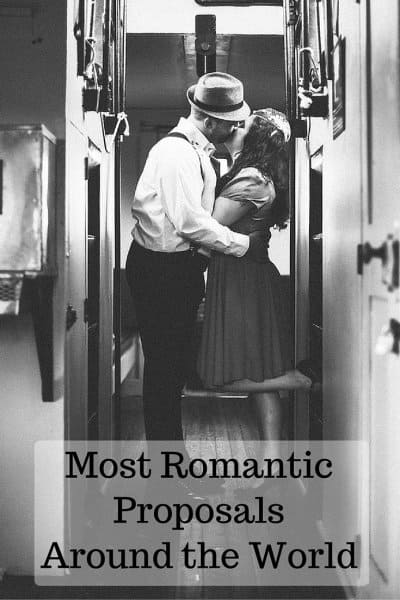 Most Romantic ProposalsAround the World