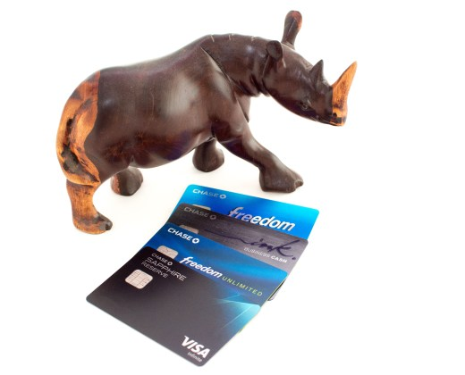 The Chase travel credit cards we use