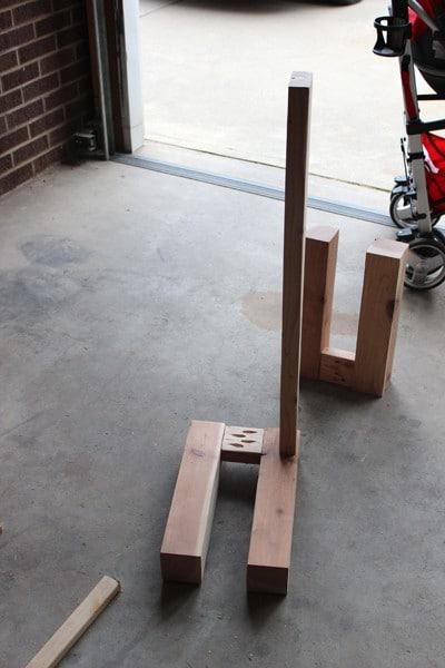 Build kitchen bench