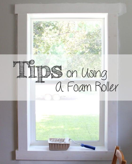 Using a Foam Roller