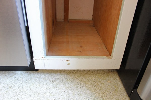 cabinet base
