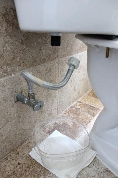 Remove Toilet Supply Line