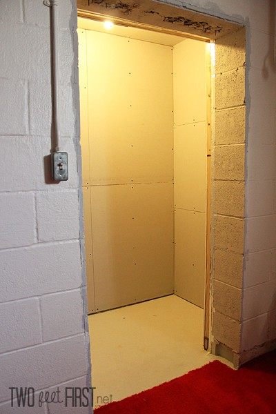 Drywall Adding To Closet